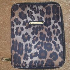 JUICY COUTURE TAN ANIMAL CHEETAH LEOPARD LAPTOP CASE