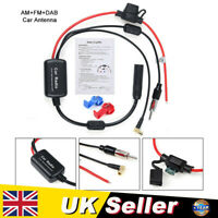 Universal DAB FM Car Antenna Aerial Splitter SMA Cable Digital Radio