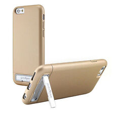 "Prodigee Kick Slider Gold iPhone 6 Plus 5.5"" Case Video Stand Slim Thin Cover"