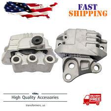 2pcs Engine Motor & Trans. Mount For Flat 500X Jeep Compass Renegade 2.4L L4