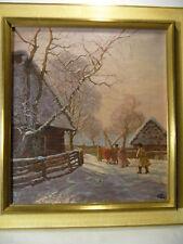 Polen Russland Böhmen 1907 : Jugendstil Wintersonne Winter Snow Russia Schlesien