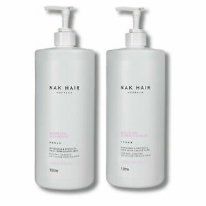 Nak Nourish Shampoo and Conditioner 1000ml 1L 1 Litre DUO