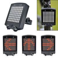 Wireless Remote Bicycle Light LED Tail  Lamp Turn Signal Light Bike Rear Light