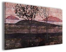 Quadro moderno Egon Schiele vol XII stampa su tela canvas pittori famosi