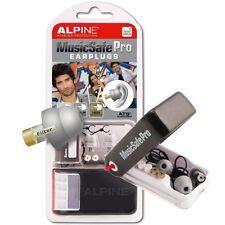 Alpine MusicSafe Pro filtrata MUSIC SAFE Ear Plug Protezione Udito Argento Nuovo Con Scatola