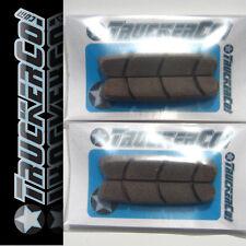 x2 Carbon Rim Safe TruckerCo High Performance Brake Pads Campagnolo Zero Gravity