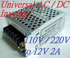AC/DC Universal Inverter Converter 110V 220V to 12V 24W