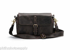 ONA The Bowery Leather (Dark Truffle) Leather Camera Bag-Handcrafted Premium Bag