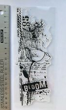 Spectrum Noir Photopolymer A5 Stamp Script Alphabet Uppercase 26pcs