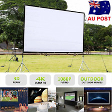 60/72/84/100/120 Portable 3D Projector Screen 16:9/4:3 Home Theatre Projection