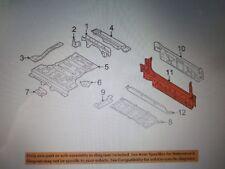 BMW X5 2006-2010 REAR BUMPER Body METAL PANEL TAIL TRIM NEW OEM 41347377381