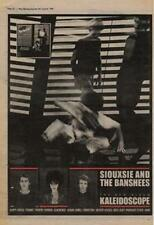 Siouxsie & The Banshees Kaleidoscope Advert NME Cutting 1980