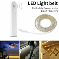 1-3M LED Wireless PIR Motion Sensor Wardrobe Cabinet LED Strip Bed Night Light A