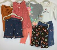 Gymboree Baby Girl 12-18 mos. 8-piece Mixed Lot Jumper, Knit Pants, Jeans EUC
