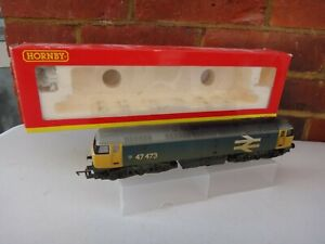 HORNBY WEATHERED CLASS 47 DIESEL ENGINE MODEL RAILWAY OO GAUGE BOXED