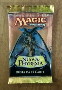 New Phyrexia Booster ITA - Pack Sealed Unsearched - MTG Magic The Gathering