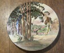 Royal Doulton Australian Series Plate Tall Gums  Rural Scene