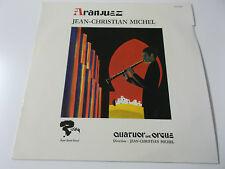 JEAN-CHRISTIAN MICHEL - ARANJUEZ - 1970 VINYL LP MADE IN GERMANY (RLP 16 021)