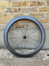 Zipp 404 in fibra di carbonio Firecrest Tubolare Ruota Anteriore 700c TT Road Bike Triathlon