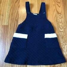 Bossini girls jumper top / tunic navy blue size 120cm / US size 8