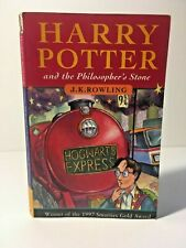 Harry Potter and the Philosopher's Stone - First Edition Paperback 1997