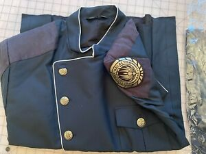 *PREMIUM POLYWOOL FABRIC* Official Battlestar Galactica Duty Blue Uniform - 2XL