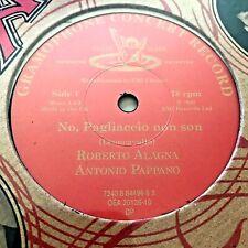 1997 ACOUSTIC OPERA 78 EMI/ANGEL vinyl disc 100 Years ROBERTO ALAGNA sealed new