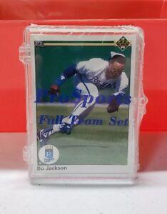 1990 Upper Deck Kansas City Royals Team Set Sealed Retail Case Bo Jackson