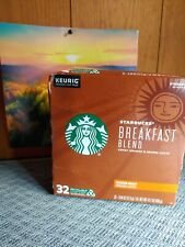 Starbucks Breakfast Blend Medium Roast Coffee - 32 Count Exp. 10/26/20