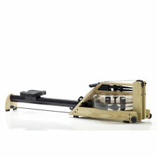 Waterrower Natural Rowing Machine with S4 Performance Monitor, Ash Wood
