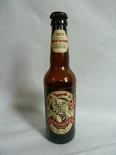 IRON MAIDEN Trooper RED N AND BLACK Beer Bottle UK Limited Edition with Top Used
