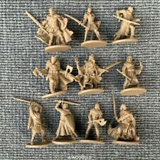 Set of 10 Golden DND Dungeons & Dragon D&D Marvelous Miniatures toy game figures