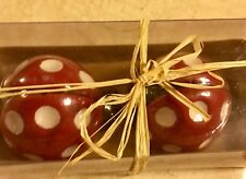 Red Lady Bug Salt & Pepper Shakers