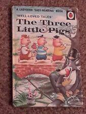 VINTAGE LADYBIRD BOOK WLT THE THREE LITTLE PIGS   606D
