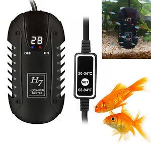 Submersible Aquarium Heater Digital Fish Tank Heater with Automatic Temperature