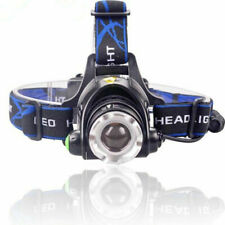 Tactical 50000LM 3Mode T6 LED Headlamp Zoomable Headlight Military Flashlight S2