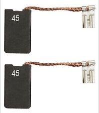 DEWALT 2x BROSSES CHARBON MOULIN FLEX D28401 D28414 D28492 D28491