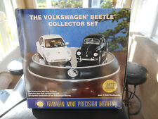 NEW The Volkswagen Beetle Collector Set Franklin Mint 1/24 Scale