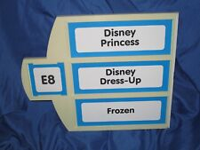 TOYS R US Exclusive Store Display/Sign ~DISNEY PRINCESS / DRESS UP / FROZEN
