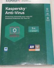 Kaspersky Anti-Virus  1 PC 1 Year License