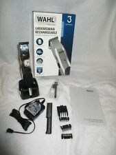 Wahl Groomsman Rechargeable Shaver Clippers Trimmer