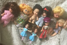 "LOT OF 9 VINTAGE 6"" And Smaller SMALL DOLLS"