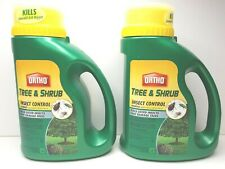 2 Ortho Tree Shrub Insect Control Granules 3.5 Lbs Aphids Ash Borers Beetles New