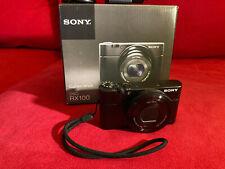 Sony Cyber-shot DSC-RX100 20.9 MP Digitalkamera - Schwarz