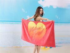 BN Victoria Secret SUNSET love towel for gym sports picnic beach 100% cotton