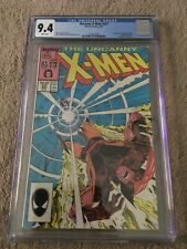 Uncanny X-Men #221  (1st Mr Sinister)  CGC 9.4  WP