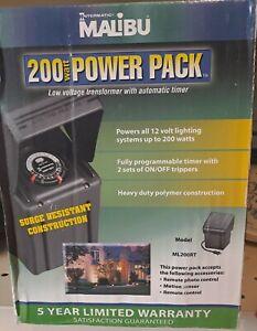 INTERMATIC MALIBU ML200RT LANDSCAPE LIGHTING POWER PACK TRANSFORMER 200W 12VAC