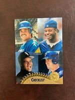 1995 PINNACLE MUSEUM COLLECTION MIKE PIAZZA KEN GRIFFEY JR.FRANK THOMAS BAGWELL