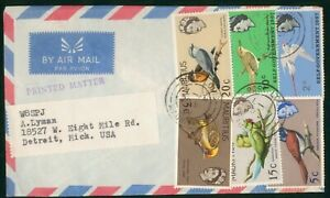 Mayfairstamps Mauritius Bird Combo Port Louis Cover wwp_64493