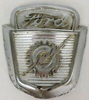 Vintage Ford Truck Hood Emblem Badge 1953-1956 F100